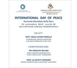 giornata mondiale della pace