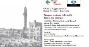 narrare la storia delle città siena 17 maggio 2014
